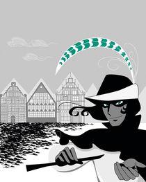 Pied Piper of Hamelin by Nadine Konrad