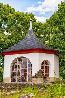 Pavillon Bergfried Saalfeld ganz nah by mnfotografie