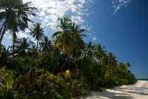 Strandsehnsucht Malediven by Sylvia Seibl