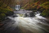 'Sgwd yr Eira waterfalls' von Leighton Collins