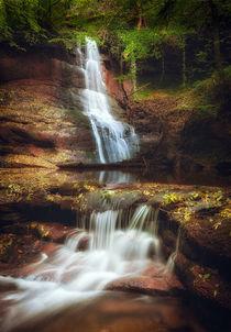 'Pwll y Wrach Waterfalls' von Leighton Collins