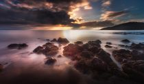 Dramatic Rotherslade Bay by Leighton Collins