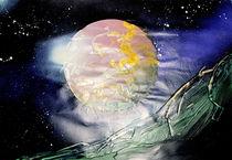 Planet im Nebel von Edmond Marinkovic