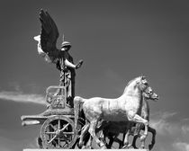 Quadriga - black and white by GabeZ Art