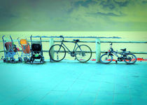 Parking at Sea by GabeZ Art