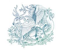 Forest Animals von Nadine Konrad