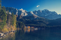 [:] Zugspitze and lake Eibsee [:] by Franz Sußbauer