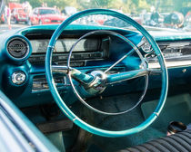 1959 Cadillac Sedan Deville Series 62 Dashboard von Jon Woodhams