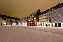 Winternacht in Freiburg by Patrick Lohmüller