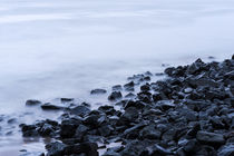 Elbstrand im winter by fotolos