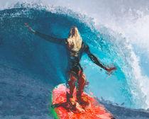 Brave Surfer by nevzor