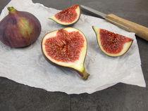Obstmahlzeit mit Feigen von Heike Rau