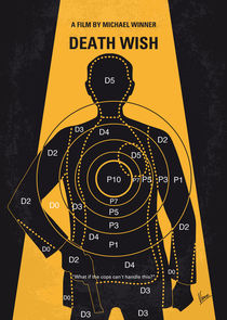 No740 My Death Wish minimal movie poster by chungkong