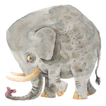 Sad Elephant by Jonas Anderson
