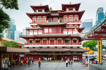 BUDDHA TOOTH RELIC TEMPLE by hollandphoto