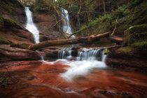 Pwll y Wrach Waterfalls by Leighton Collins