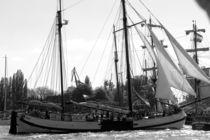 "Sailing boat / Segelboot ""WORKUM NL"" 2016 in Hamburg, Hafengeburtstag von Simone Marsig"