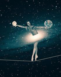 The Cosmic Game of Balance or Universe Ballerina von Paula  Belle Flores