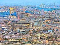 Rome Cityscape by GabeZ Art
