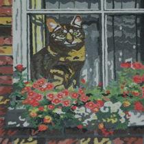 in the window by Paula Bettam