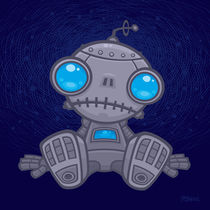 Sad Robot by John Schwegel