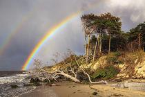Regenbogen über dem Weststrand von moqui