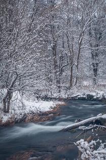Flusslandschaft im Schnee von jazzlight