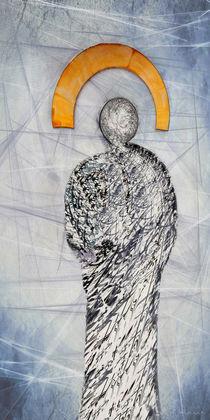 Lichtgestalt - Engel abstrakt von Chris Berger