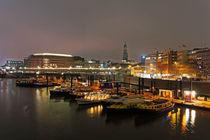 Hamburger Hafen von Borg Enders