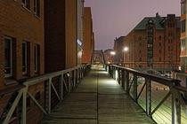 Speicherstadt Brücke von Borg Enders