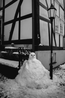 Old Snowman by dagino