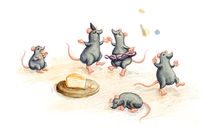 Mauseparty – Party Mice by Ina Worms