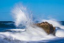 Wellen an der Küste der Ostsee by Rico Ködder