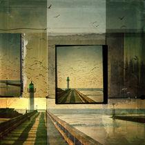 Leuchtturm by Gisela Kretzschmar
