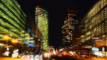 potsdamer platz @night by k-h.foerster _______                            port fO= lio