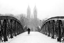 Schneegestöber in Freiburg by Patrick Lohmüller