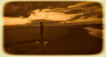 Another Place on Crosby Beach von John Wain