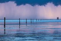 Gewitter über der  Nordsee by Britta Hilpert