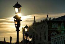 Abendstimmung in Venedig by Bruno Schmidiger