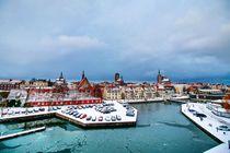 Stralsund Panorama von Tino Schmidt