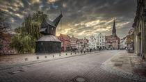 ... lüneburger hafenviertel von Manfred Hartmann