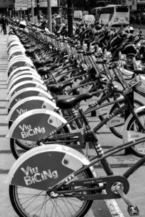 Bike rental viu bicing in Barcelona von stephiii