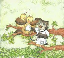 Little Birds by Awdrey Koike Mazo
