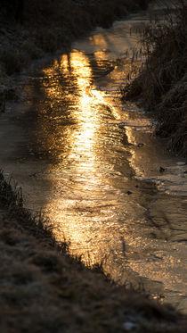 Lichtweg auf Eis by Stephan Gehrlein