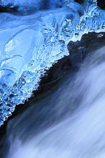 Wasser und Eis - Blick ins Wasser von Bernhard Kaiser