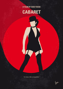 No742 My Cabaret minimal movie poster von chungkong
