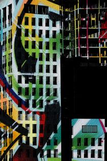 Hochhausfassaden von Bastian  Kienitz
