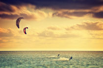 Kitesurfen Retro von AD DESIGN Photo + PhotoArt