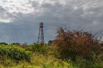 Leuchtturm Campen im Unwetter by ropo13