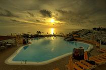 Sunset Pool  by Rob Hawkins